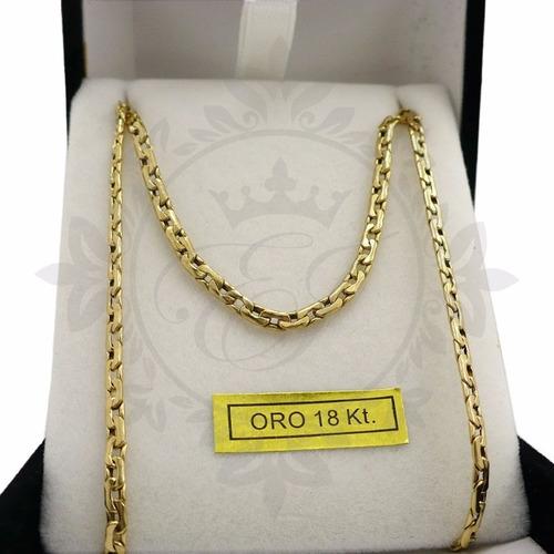 eab21bb36c67 Cadenas Oro 18k Hombre- Mujer Paris 4 Grs- 60 Cm Regalo en venta en ...