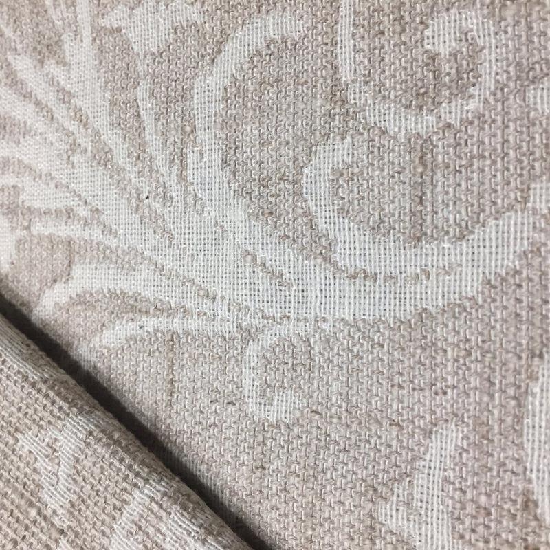 Tecido para estofado linho arabesco rústico  Linen 01