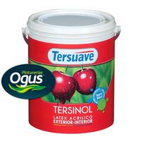 TERSINOL LATEX INTERIOR EXTERIOR x 4 Lts OGUS