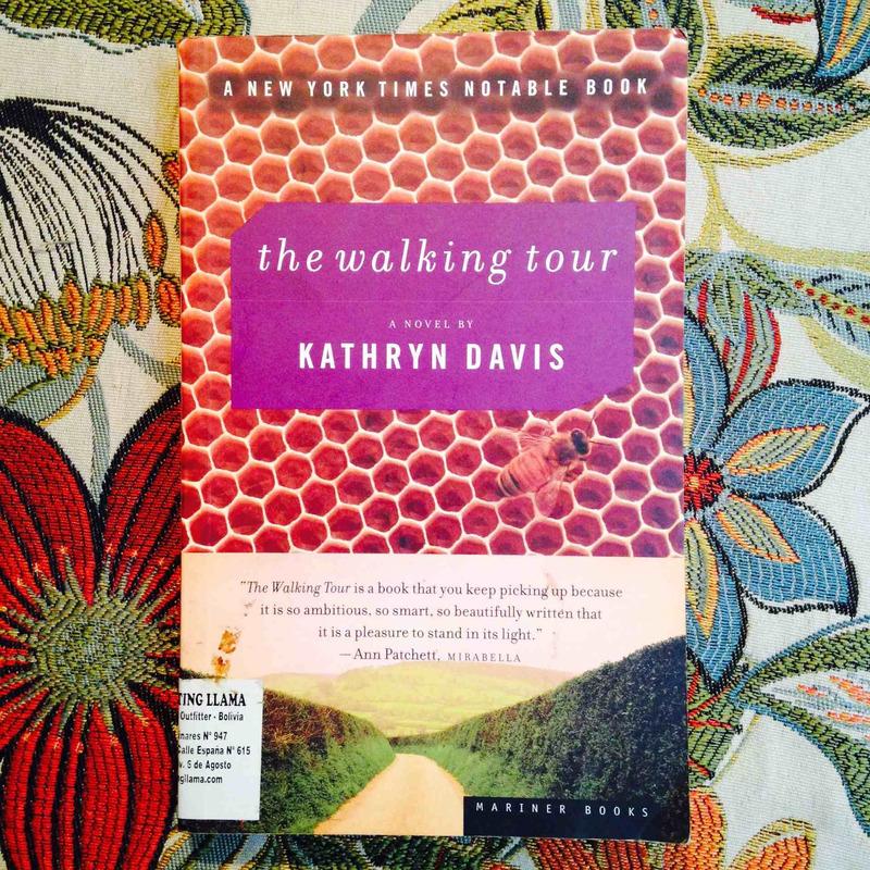 Kathryn Davis.  THE WALKING TOUR.