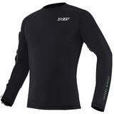Blusa Camisa 2ª Segunda Pele X11 Climate 2 Preto Inverno
