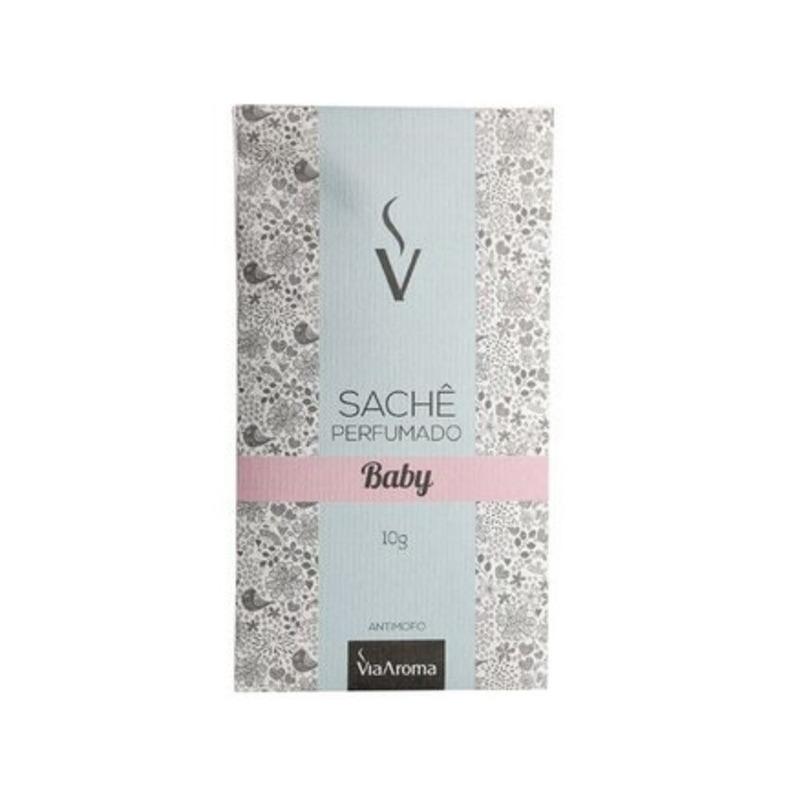 Sache Perfumado - Aroma Baby - 10g - Via Aroma