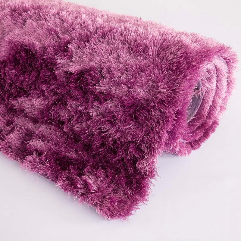 Tapete Gold Shaggy Cor 06 Lilas 1,50X2,00 Lilas- Edx Tapetes