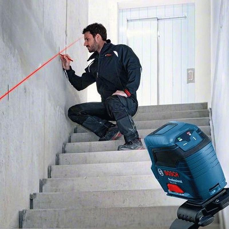 Nível a Laser de Linhas em Cruz 10 Metros GLL 2-10 - 0 601 063 L00 - Bosch