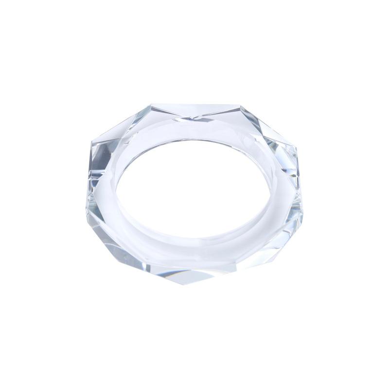 Cinzeiro de Cristal Octagonal 13X13X2,7Cm - Prestige 3109260