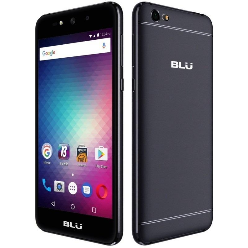 """N. Celular BLU Grand X HD 5.0"""" QC 1.3 GHz 1/8GB 5MP Bat2200mAh 6.0 Negro"""