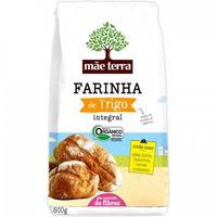 Farinha Integral Organica de Trigo 500g - Mae Terra