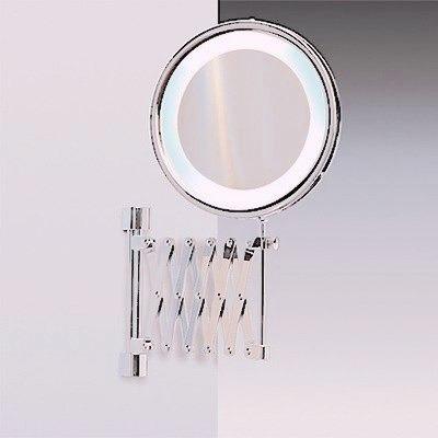 espejo con aumento y luz para maquillaje