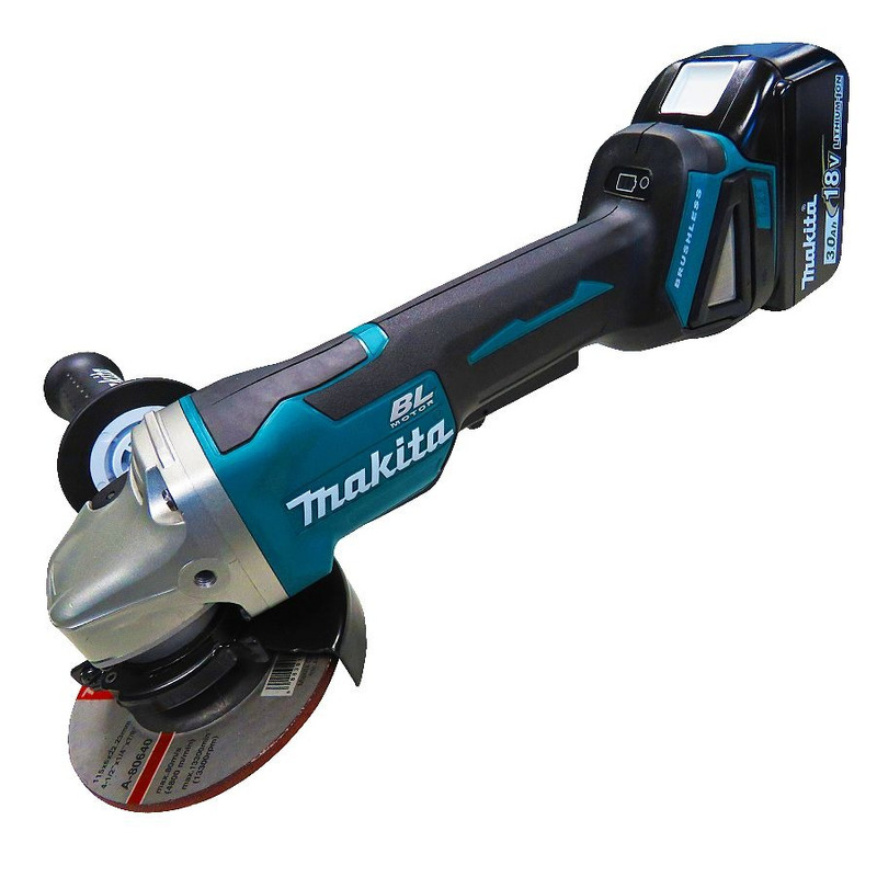 Kit Combo Furadeira de Impacto e Parafusadeira a Bateria + Esmerilhadeira Angular 115mm - Makita