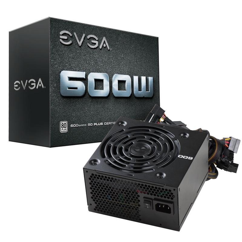 Fuente Evga 600W 80+Blanco