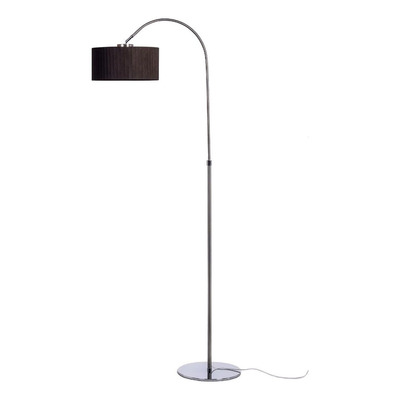 Lampara De Pie Arco Small De Tela Apto Led Luz Desing