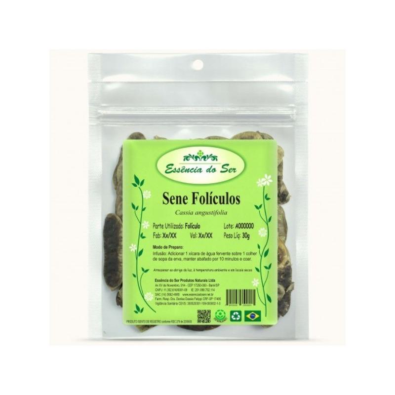 Cha de Sene Foliculos - Kit 2 x 30g - Essencia do Ser
