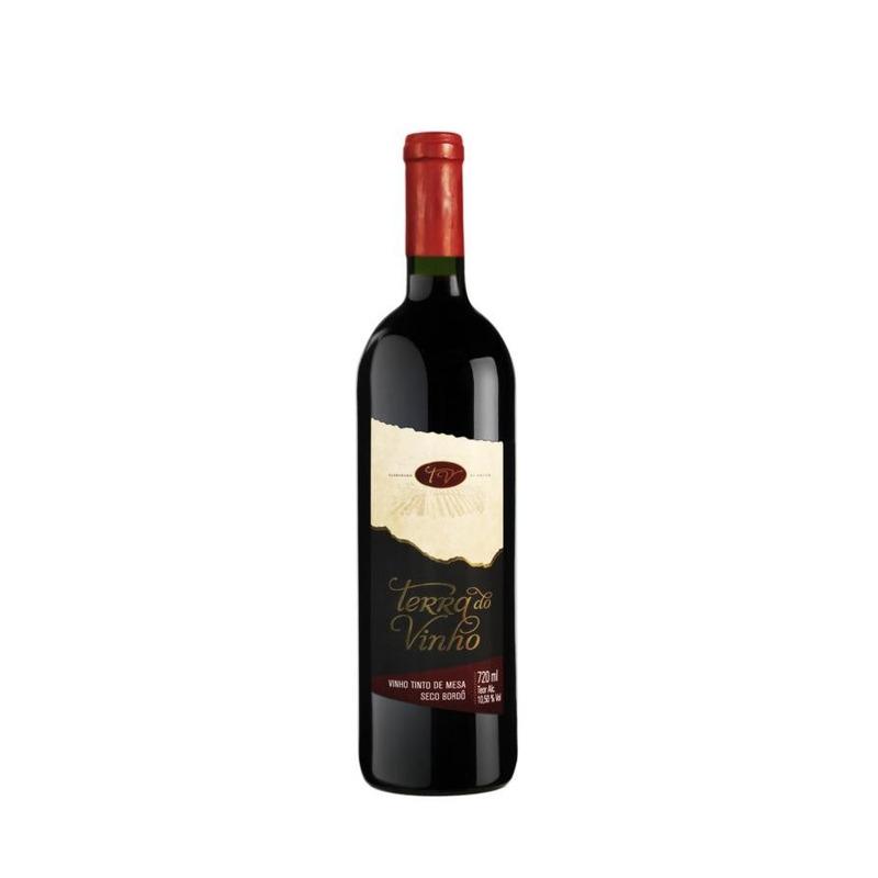 Vinho Tinto Seco Bordô 720ml - Adega Terra do Vinho