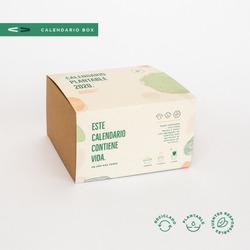 3 Box Calendario Plantable 2020