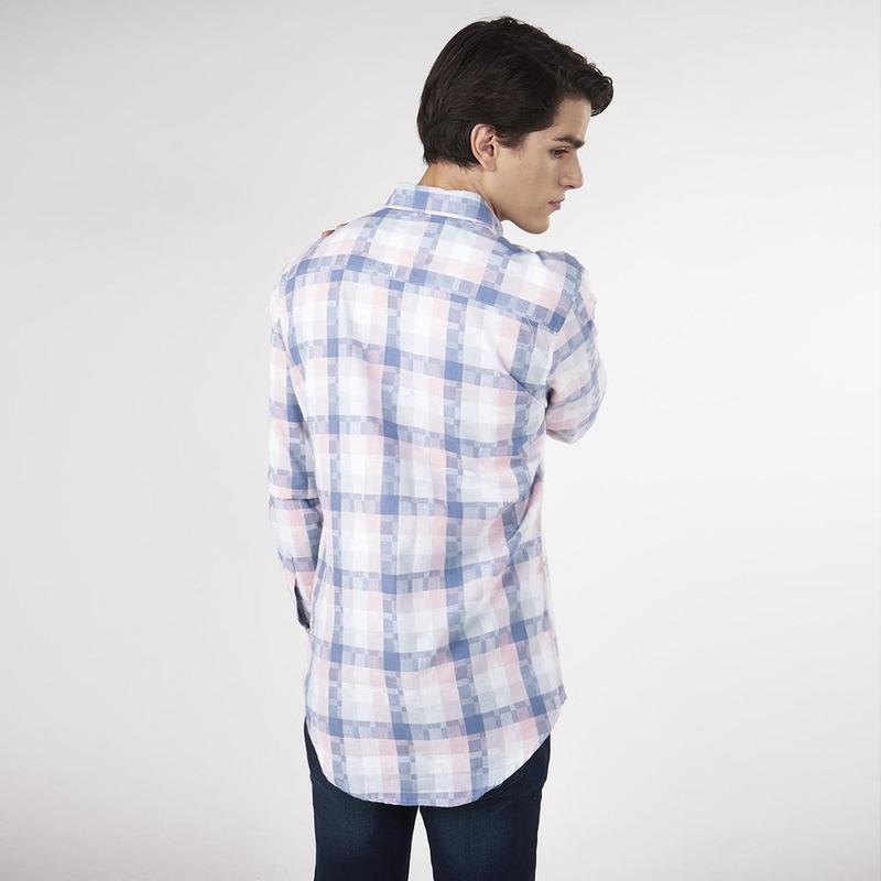 Camisa Multicolor A Cuadros 019273