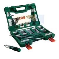 Kit de Brocas, Bits e Soquete c/91 peças V-Line - 2607017195 - Bosch