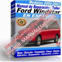 Manual de Reparacion Taller Ford Windstar 2000 2001 2002 2003