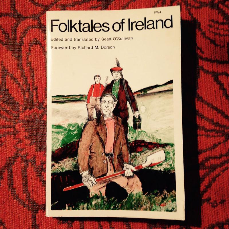 Sean O'Sullivan.  FOLKTALES OF IRELAND.