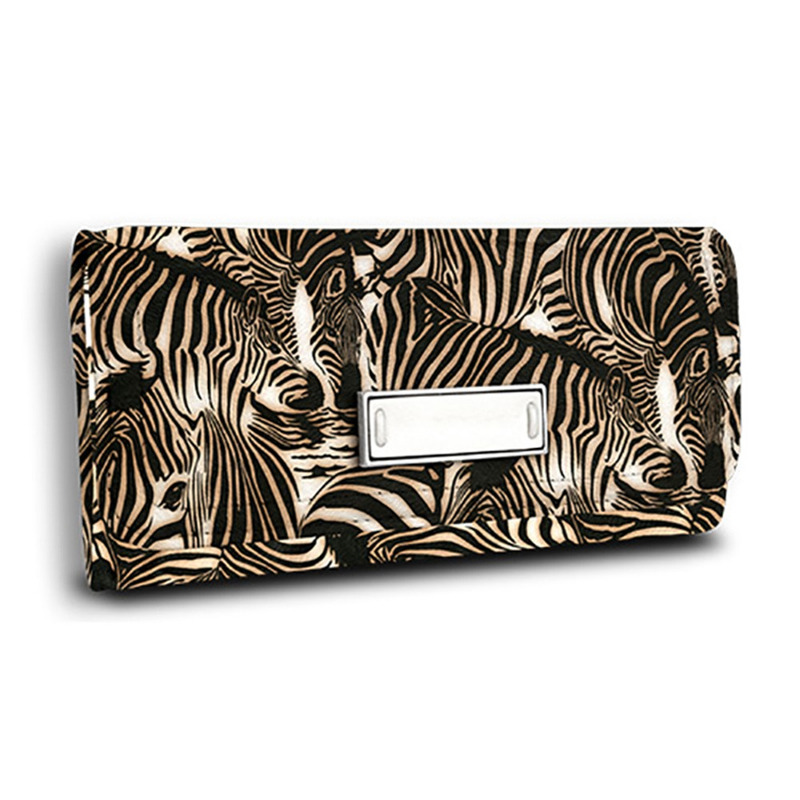 Tecido corino zebra savanna Larg. 1,40 m