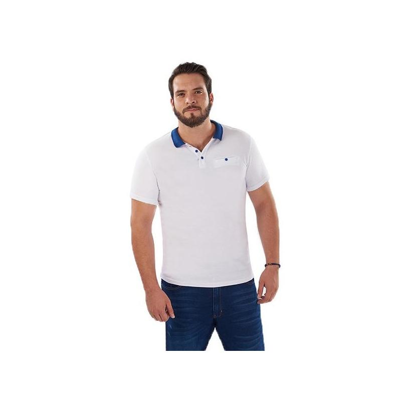 Camisa blanca manga corta 014616