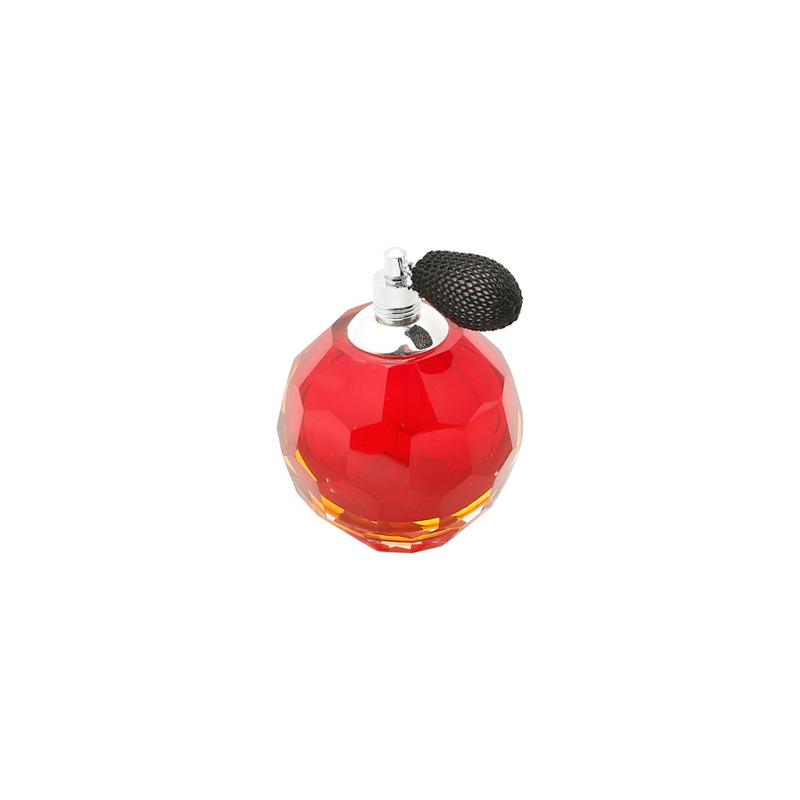 Garrafa para Perfume com Borrifador Vermelha - Prestige 3102575