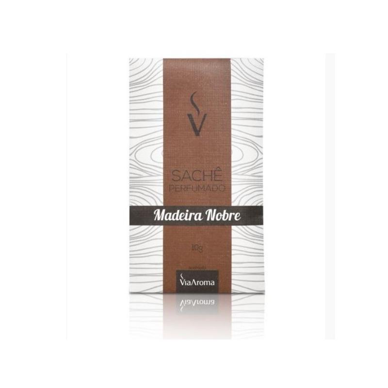 Sache Perfumado - Aroma Madeira Nobre - 10g - Via Aroma