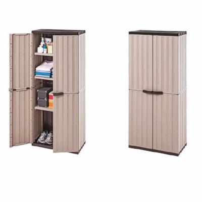 Armario pl stico exterior gabinete jard n en venta en for Armarios plastico para exterior baratos