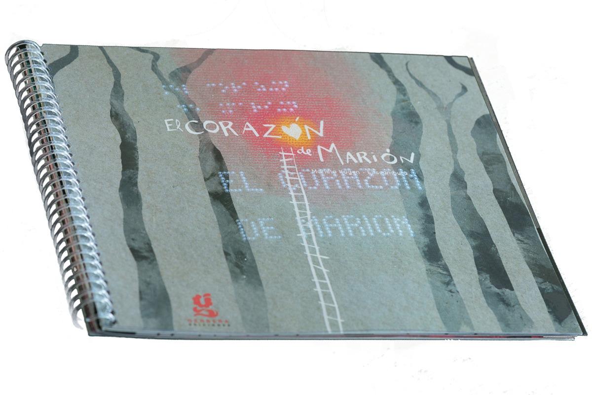 Libro Braille - El corazón de Marión - Gerb...