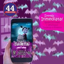 Busca Invitaciones Digitales De Vampirina Tarjeta Whatsapp A