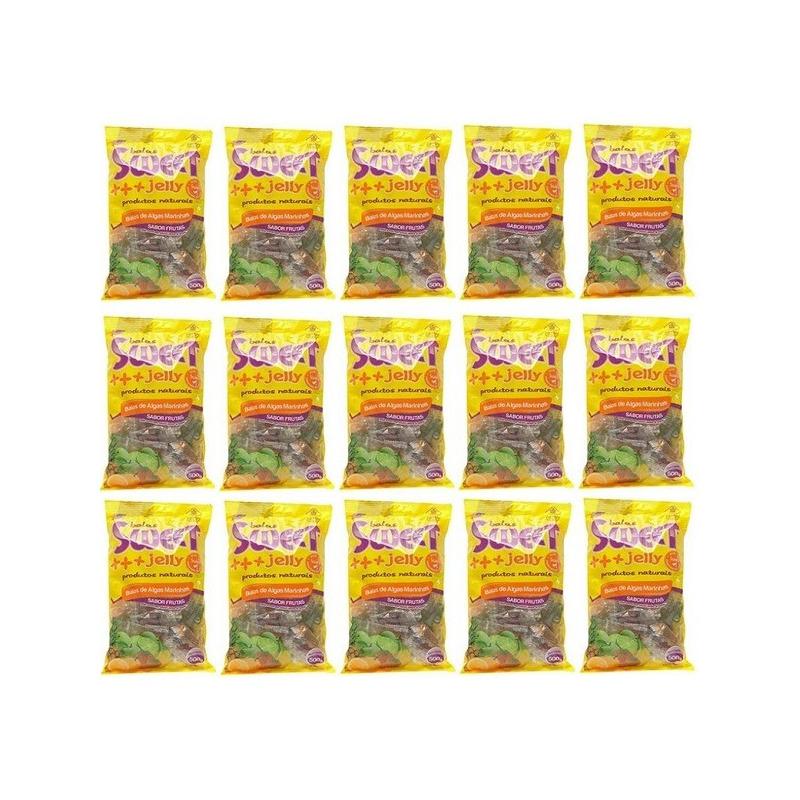 Balas de Algas (Sortidas) Kit 15 x 500g Sweet Jelly