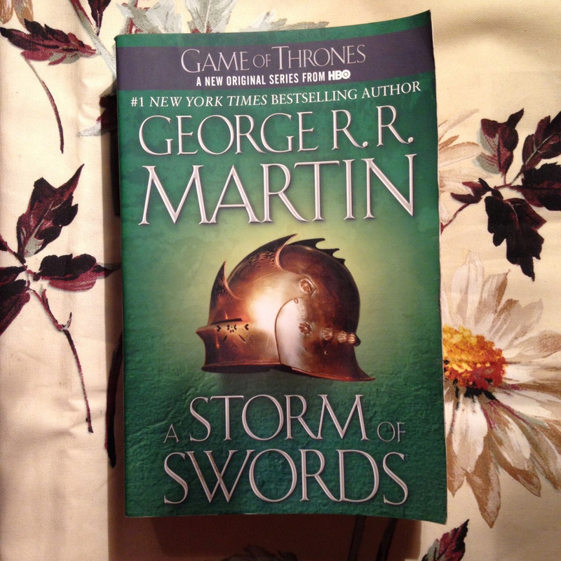 George R. R. Martin.  A STORM OF SWORDS.