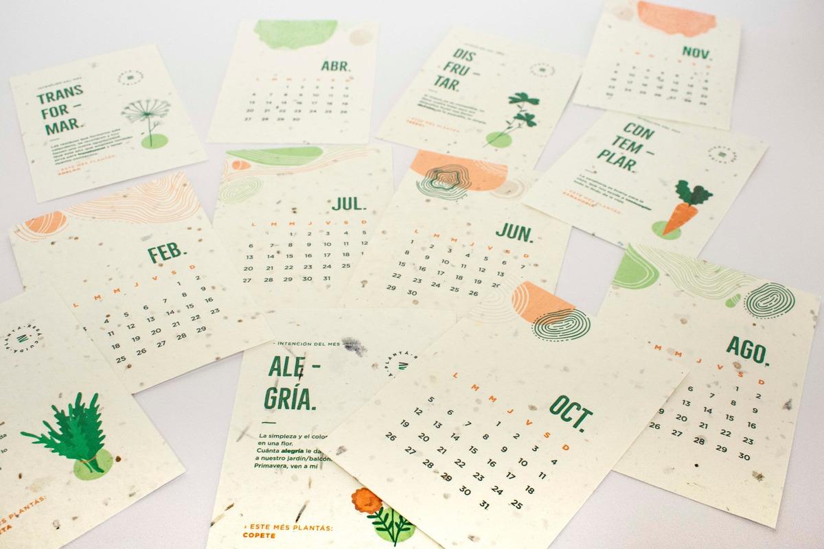 Calendario Plantable 2020