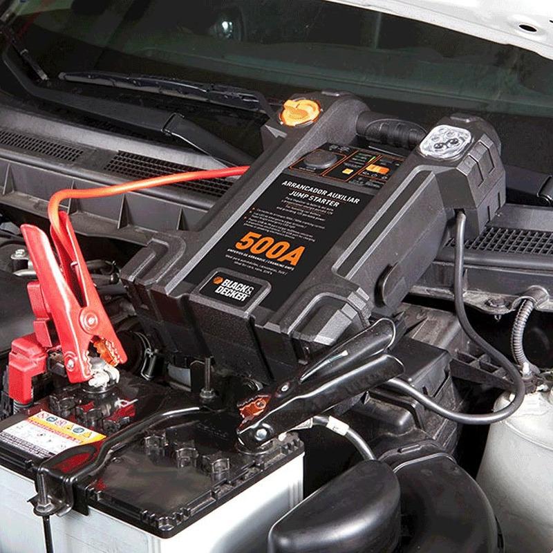 Arrancador Auxiliar de Partida para Automóveis 500 Amperes 12V - JS500S - Black&Decker - Bivolt