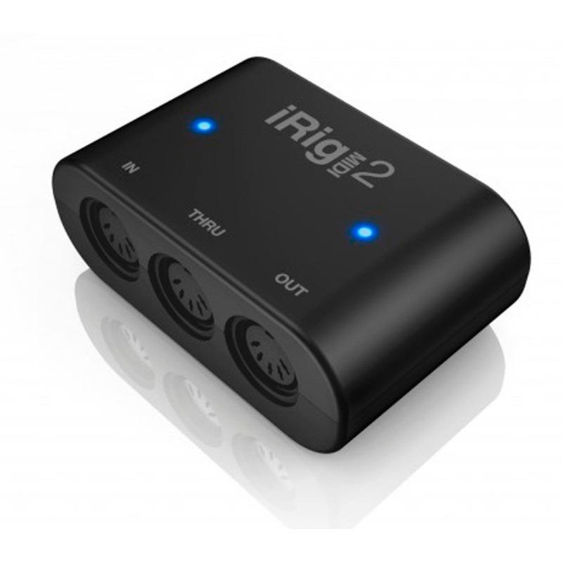 Interface de Áudio Universal iRig Midi 2 para iOS e Android iK Multimedia Original