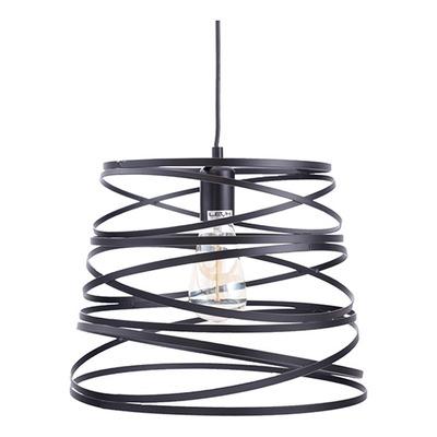 Lampara Colgante Aplique Moderna Metal Twist Deco E27