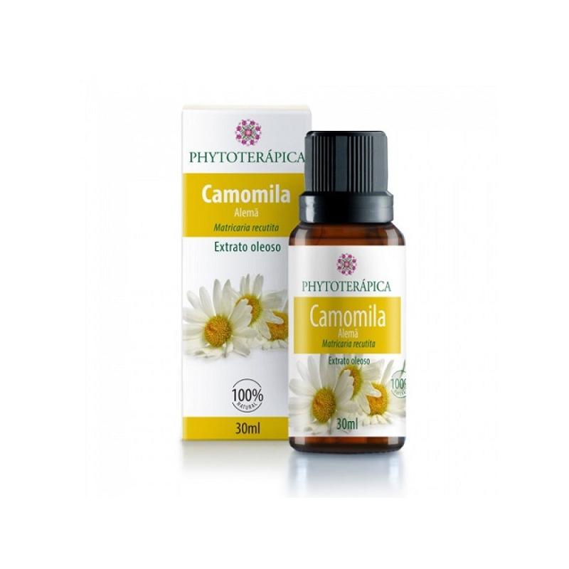 Oleo Vegetal de Camomila Alema - Phytoterapica 30ml