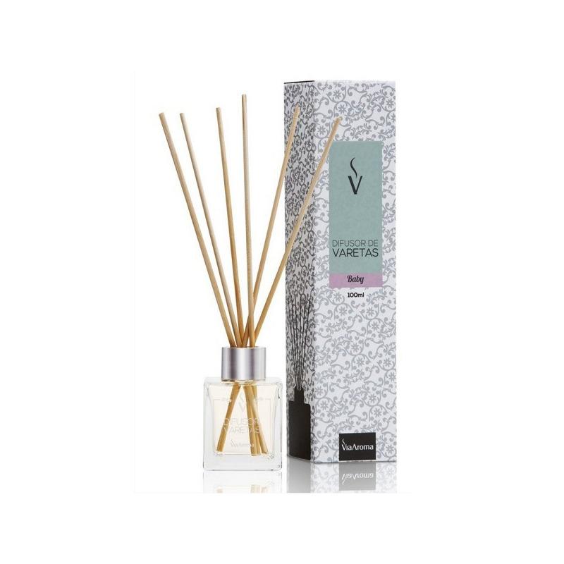 Stick Difusor Aroma Baby - 100ml - Via Aroma