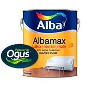 Pintura Latex Interior Antihongo Albamax Alba 10 Lts Ogus