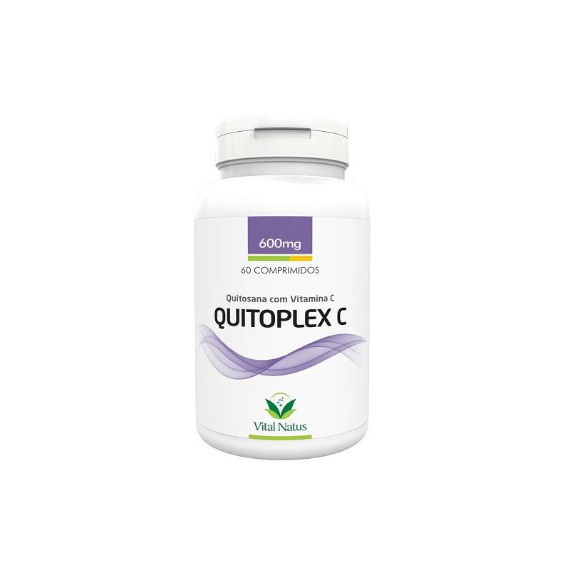 Quitoplex C (Quitosana+Vitamina C)60 Compr 600mg Vital Natus