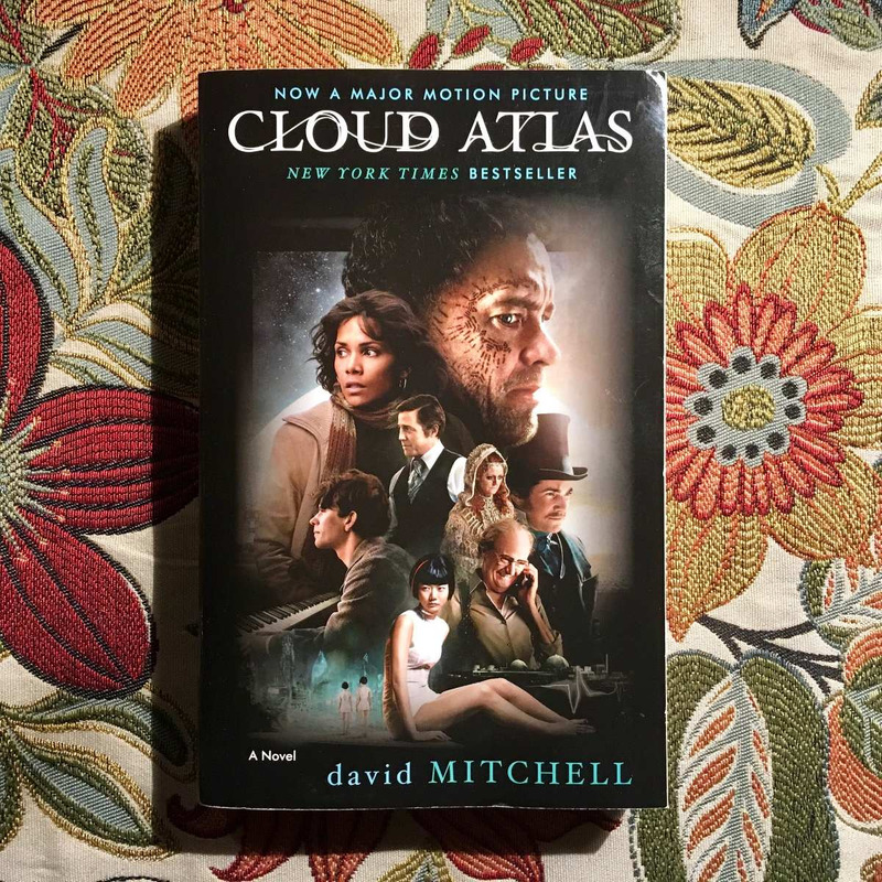 David Mitchell.  CLOUD ATLAS.