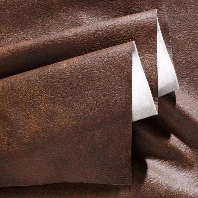 Tecido corano marrom envelhecido