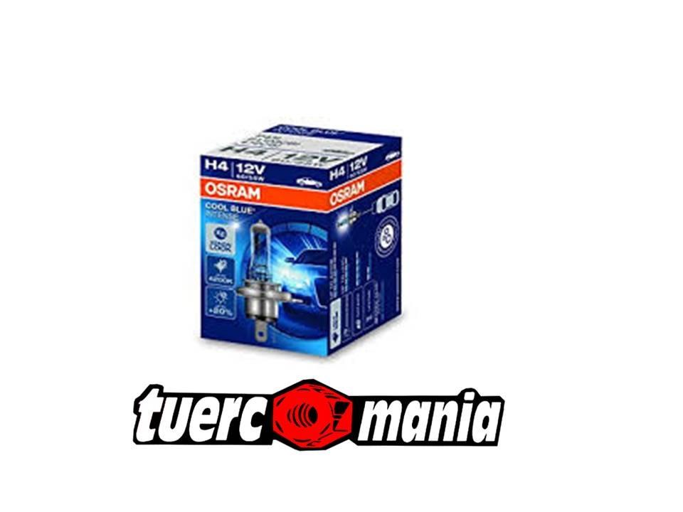 LAMPARA OSRAM COOL BLUE H4 X 2 UNIDADES  KIT 44