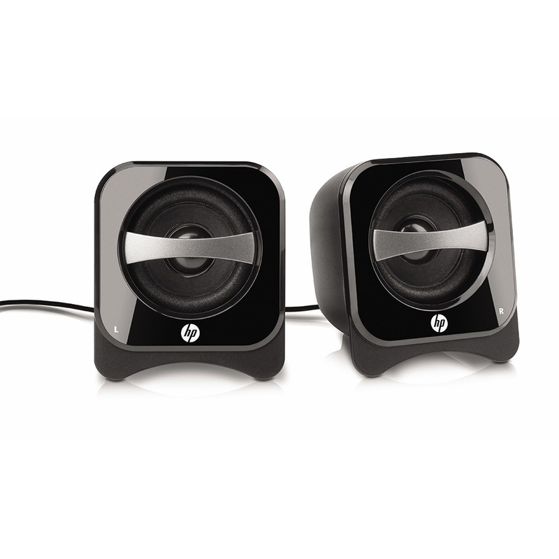 CAIXA DE SOM SPEAKER 2.0 USB HP COMPACT