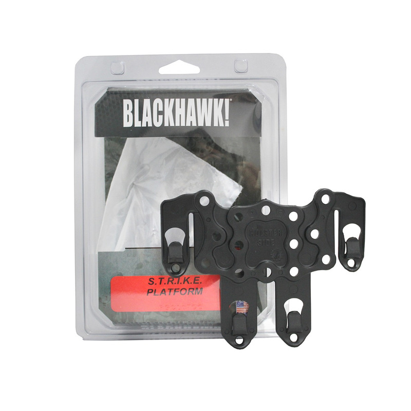 Blackhawk Serpa STRIKE Platform Blk 38cl63bk 8135