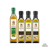 1 Aceite Oliva 500ml y  3 Aceites De Oliva Saborizados a elección