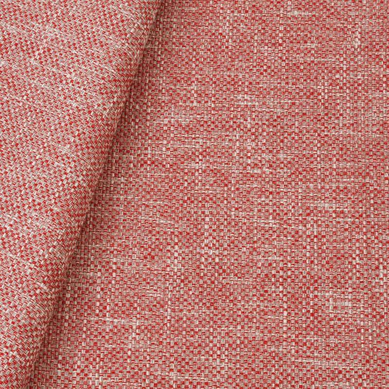 Tecido linho para sofá cereja  Coleção Vicenzza