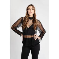 Camisa Julieta Negra