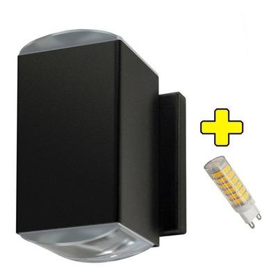 Bidireccional Doble Lente Óptico Exterior Con Led G9 6w