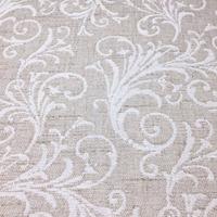 Tecido para estofado linho arabesco rústico  Linen 14