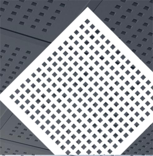 Cielorraso Desmontable Deco Exsound Circular Durlock 60x60